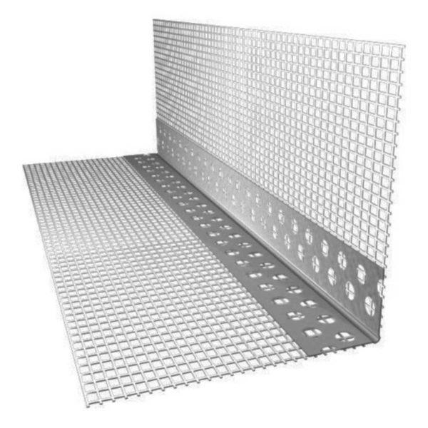 Профиль-капельник ROCKWOOL (с открытым капельником) ПВХ с сеткой (2.5 м.п.)