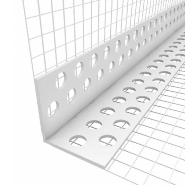 Профиль ROCKWOOL примыкающий самоклеющийся (с сеткой) 9мм (2.4 м.п.)