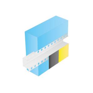 Профиль ROCKWOOL деформационный плоскостной (2.5 м.п.)