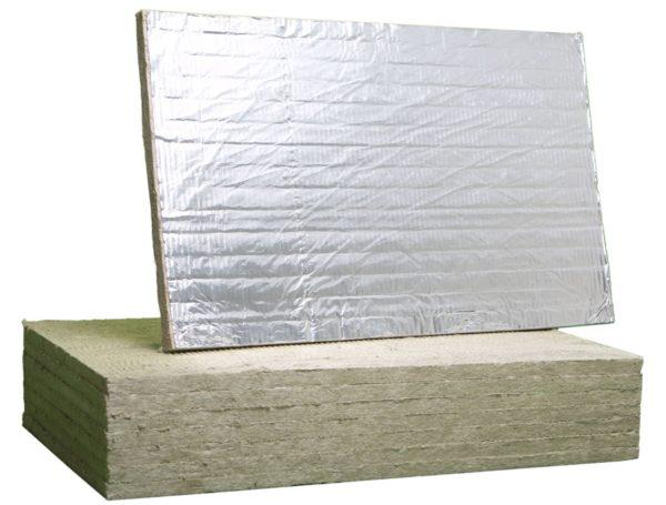 Минераловатная плита ALU FIRE BATTS 1000x600x50