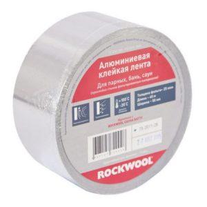 Алюминиевая клейкая лента ROCKWOOL 100 мм (40 м.п.)