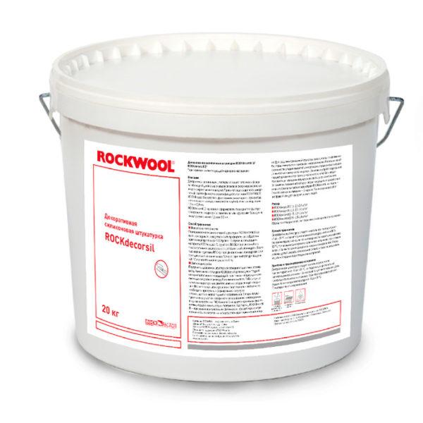 """ROCKdecorsil D1.5 (""""короед"""", зерно 1.5), белая"""