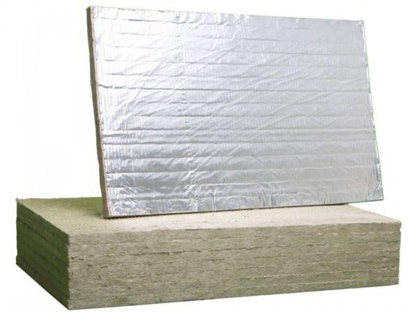 Минераловатная плита ALU FIRE BATTS 1000x600x25
