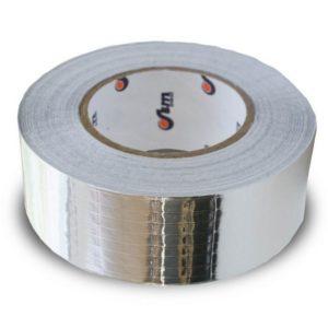 Лента алюминиевая самоклеящаяся армированная ЛАС-А (50 м, ш = 100 мм)