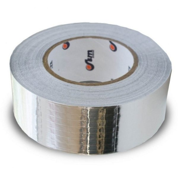 Лента алюминиевая самоклеящаяся армированная ЛАС-А (50 м, ш = 75 мм)
