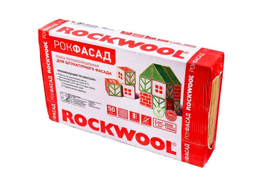 Рокфасад - фото упаковки утеплителя